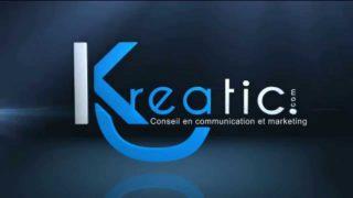 Animation logo KREATIC